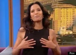 Padma Lakshmi really likes Wendy Williams' boobs.