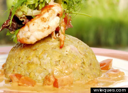 La versión de la receta de Mofongo puertorriqueño, al estilo del restaurante Sorcé.