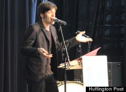 Sébastien Nasra, président et fondateur de M pour Montréal. (Crédit photo: Myriam Lefebvre / Huffington Post Québec)