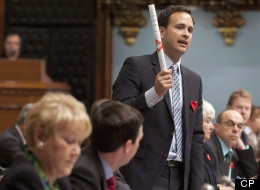 Alexandre Cloutier, minister for Canadian intergovernmental affairs and minister responsible for