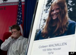 Shawn MacMillen, brother of murder victim Colleen MacMillen, attends an RCMP news conference in September 2012. (AP Photo/The Canadian Press, Jonathan Hayward)