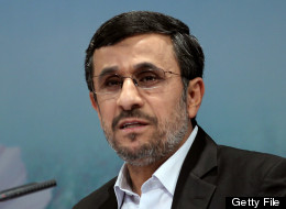 Iranian President Mahmoud Ahmadinejad speaks during a press conference in Tehran on October 2, 2012. (ATTA KENARE/AFP/GettyImages)