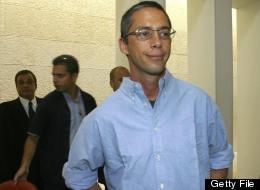 Gilad Sharon, son of former Israeli Prime Minister Ariel Sharon, on September 29th, 2003. (BRIAN HENDLER/AFP/Getty Images)