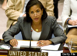 U.S. Ambassador to the UN Susan Rice speaks during a Security Council meeting on the situation in Syria, August 30, 2012 at United Nations Headquarters in New York.  (STEPHEN CHERNIN/AFP/GettyImages)