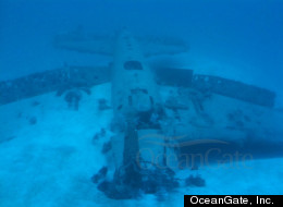 Researchers discovered the WWII-era Hellcat fighter plane wreckage off the coast of Miami while examining artifical reefs.