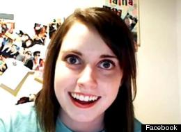 Internet sensation 'Overly Attached Girlfriend' is using her fame to give back to charity by performing dares in exchange for donations.