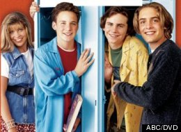 'Boy Meets World' cast now and then.