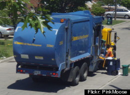 A man was almost crushed to death in a Toronto garbage truck. (Flickr: PinkMoose)