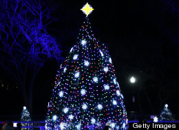 The National Christmas Tree lighting ceremony will close portions of 15th and 17th streets NW during Thursday's evening rush hour.