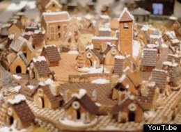 Behold! The adorable gingerbread city of Yurakucho.