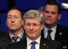 Stephen Harper has been Prime Minister for nearly seven years, but the majority of Canadians still believe he has a hidden agenda, according to a new poll. (CP)