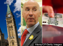 The report from Parliamentary Budget Officer Kevin Page shows the average public servant costs taxpayers $114,100 a year in total compensation. (Alamy/CP/Getty Images)