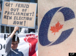 The electoral fates of six Conservative MPs, once strictly the purview of Canadian voters, landed in the hands of a judge Monday as lawyers on both sides of the so-called robocalls case wrapped up their arguments. (CP)