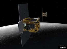 Artists' impression of the Nasa grail mission