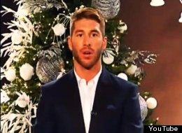 Sergio Ramos desea Feliz Navidad