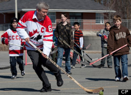 Prime Minister Stephen Harper says he's saddened by the lockout that has paralysed the NHL. (CP)