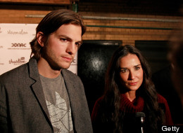 Demi Moore and Ashton Kutcher split in Nov. 2011.