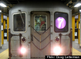 A man was shoved in front of a subway train and killed on Thursday night in Queens, police say. (Flickr: Doug Letterman)