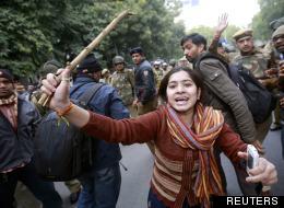 La protesta contro lo stupro e l'uccisione diJyoti Singh Pandey, la ragazza di 23 anni in India il mese scorso