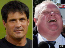 Former baseball star, and current Twitter celebrity, Jose Canseco says he's plotting a run to replace Rob Ford as mayor of Toronto. (CP)