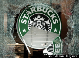 Richard MacMillan, 27, was sentenced to a conditional term after he smashed the windows of a Stabucks during Vancouver's Stanley Cup Riot of 2011. (<a href=