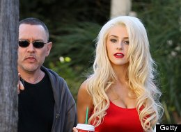 Courtney Stodden and husband Doug Hutchison.