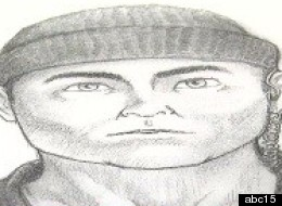 A sketch of the supposed 'Dynomite' Bandit.