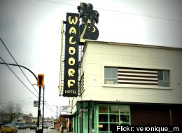 The Waldorf Hotel is slated to close on Jan. 20, 2013. (Flickr: <a href=