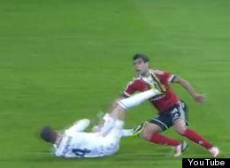 Sergio Ramos fue expulsado en el partido de la Copa del Rey ante Celta de Vigo
