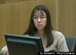 Jodi Arias lising to testimony in court Monday.