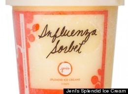Influenza Sorbet has been Jeni's top-seller for January.