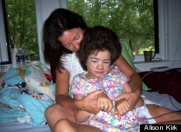 Alison Kirk with her daughter, Caroline Kirk, in 2007, the year before she died.