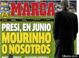 El Diario Marca publicó un ultimátum de los jugadores al presidente del Real Madrid