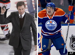 Wayne Gretzky on Wednesday told Hockey Night in CanadaRadio listeners to remain patient and that building a winning product in Edmonton will take time, despite the presence of No. 1 overall draft picks Taylor Hall, Ryan Nugent-Hopkins and Nail Yakupov. (AP)