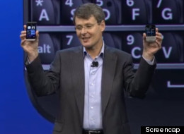 Research In Motion is now BlackBerry.  The tech company behind the BlackBerry smartphone brand announced it would rename itself after its flagship product at the launch of its new BlackBerry 10 platform on Tuesday. (Photo: Screencap)