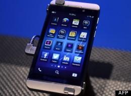 RIM a présenté ses nouveaux smartphones, les Z10 et Q10