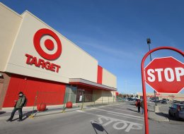 One of the first Canadian target stores in Guelph, Ontario slated to open in Spring 2013. (THE CANADIAN PRESS IMAGES/Stephen C. Host)