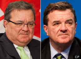 Jim Flaherty's face has grown bloated and puffy and he's gained a significant amount of weight due to treatment for bullous pemphigoid, a rare skin disease. (CP)