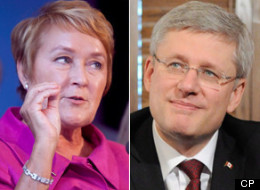 Prime Minister Stephen Harper will meet with the premier of Quebec tomorrow. But they won't be holding a news conference together. (CP)