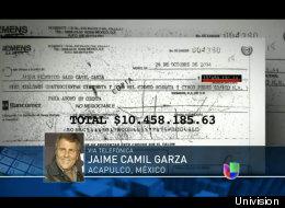 El pago a Jaime Camil