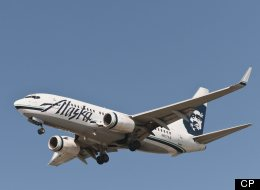 An Alaska Airlines jetliner bound for Seattle made an emergency landing in Portland, Ore., Thursday night after the pilot lost consciousness, an airline spokesman said.