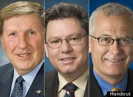 Bill Barisoff, Robin Austin and Doug Donaldson spent the most on travel among B.C. MLAs. (BC Government website)
