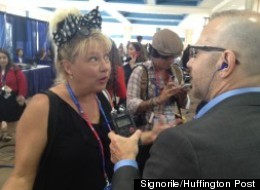 Victoria Jackson (pictured at the Republican Convention) says white men should be encouraged
