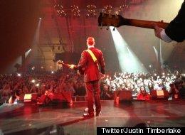 Twitter/Justin Timberlake