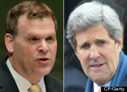 With the fate of a controversial Keystone XL pipeline in his hands, it didn't take long for newly appointed U.S. Secretary of State John Kerry to pick up the phone and call Foreign Affairs Minister John Baird during his first weekend on the job. (CP/Getty Images)