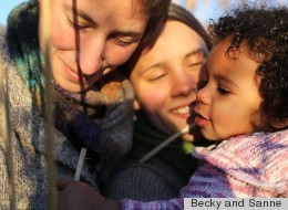 Becky and Sanne