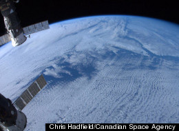 Canadian astronaut Chris Hadfield snapped this photo of Earth from space from the International Space Station during the Expedition 34 mission. The January 2013 photo shows Newfoundland and Labrador from orbit.