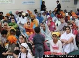 Students, parents are protesting the closure of Vancouver's Khalsa school. (Khalsa School Canada)