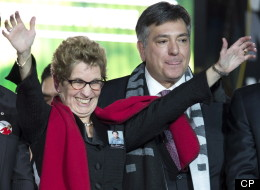 Premier-designate Kathleen Wynne is set to appoint leadership rival Charles Sousa as her finance minister. (CP)