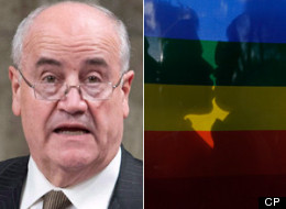 International Co-operation Minister Julian Fantino is defending the policy which led to funding for Crossroads Christian Communications, an organization that expressed anti-gay views on its website. (CP)